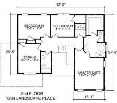 Professional accurate square footage measurements nc for Floor plan with measurements